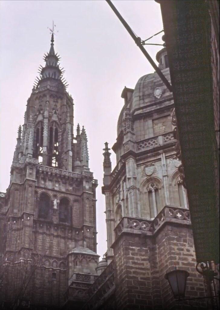 Catedral de Toledo el 30 de diciembre de 1977. Fotografía de Peter Laurence
