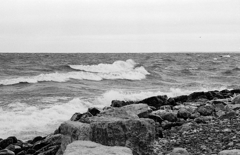 Angry Lake Ontario Dec 2020 Rough Surf