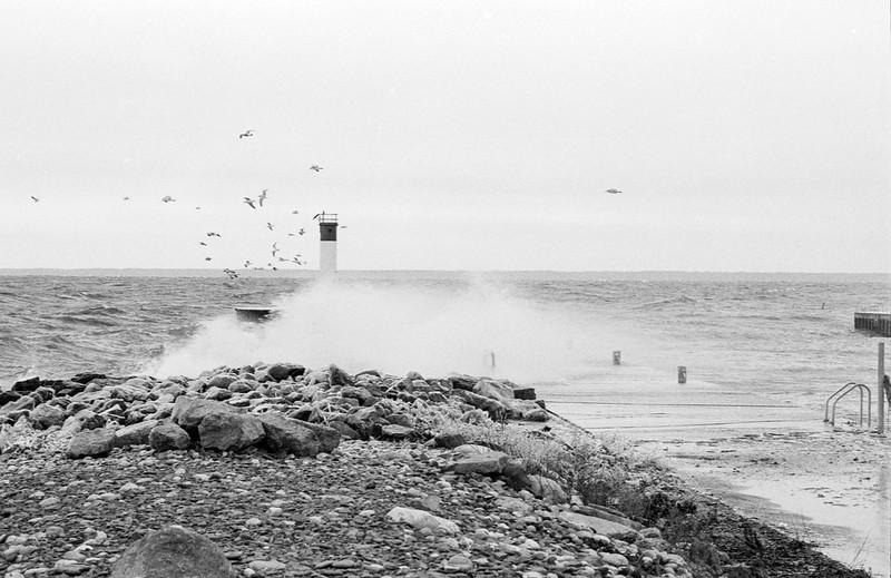 Angry Lake Ontario Dec 2020
