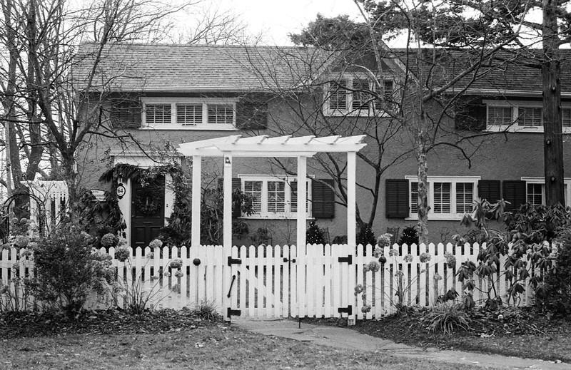 White Picket Fence and Trellis