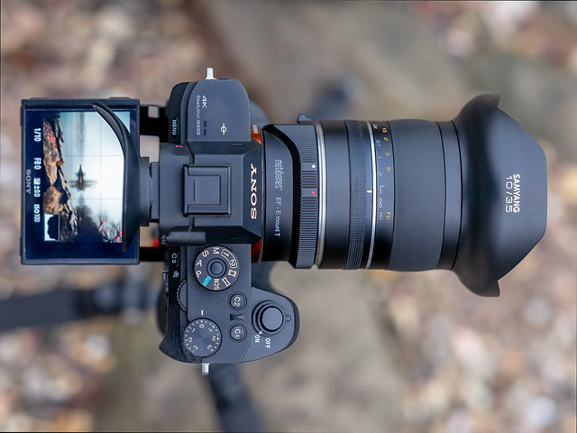 SONY ⍺7RII & Samyang XP 10mm ƒ/3.5 seen by SONY ⍺7III & Samyang XP 85mm ƒ/1.2