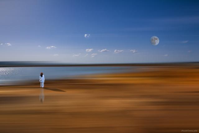 Fantasy on a shore - Fantasía sobre una orilla