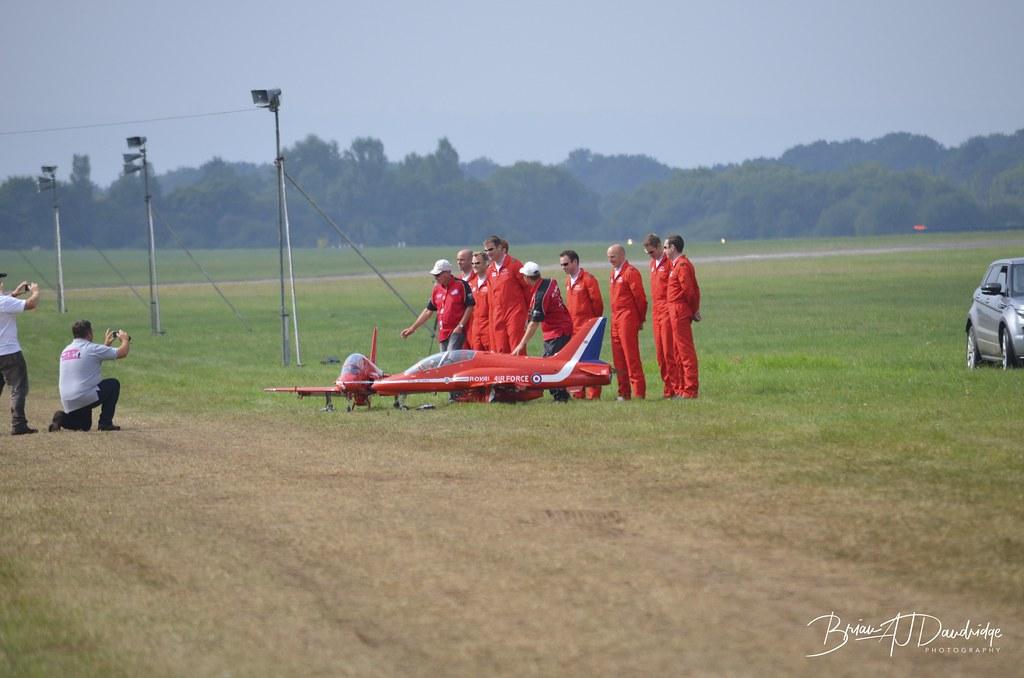 Mini-Red Arrows at Wings & Wheels 2013
