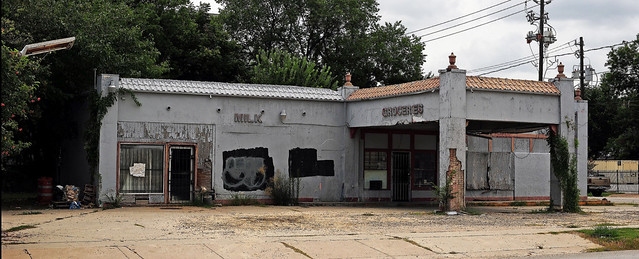 Abandoned Gas Station - Houston, Texas