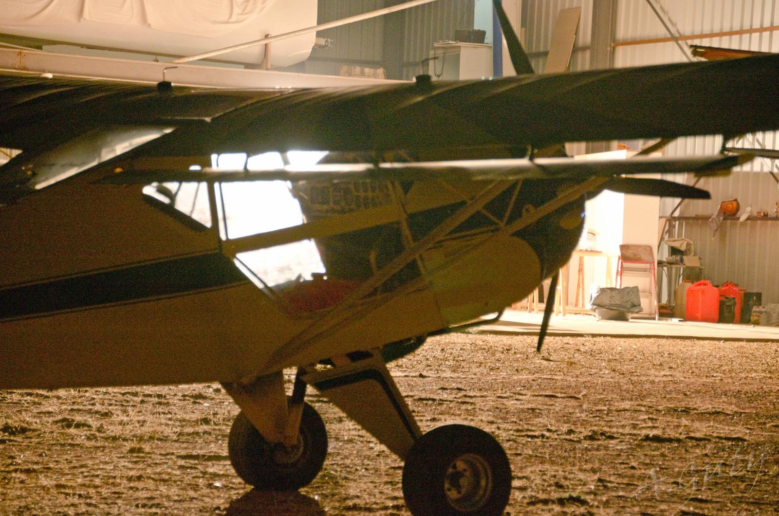Cena Club Aerodromo Astorga Kitfox  hangar noche (58)