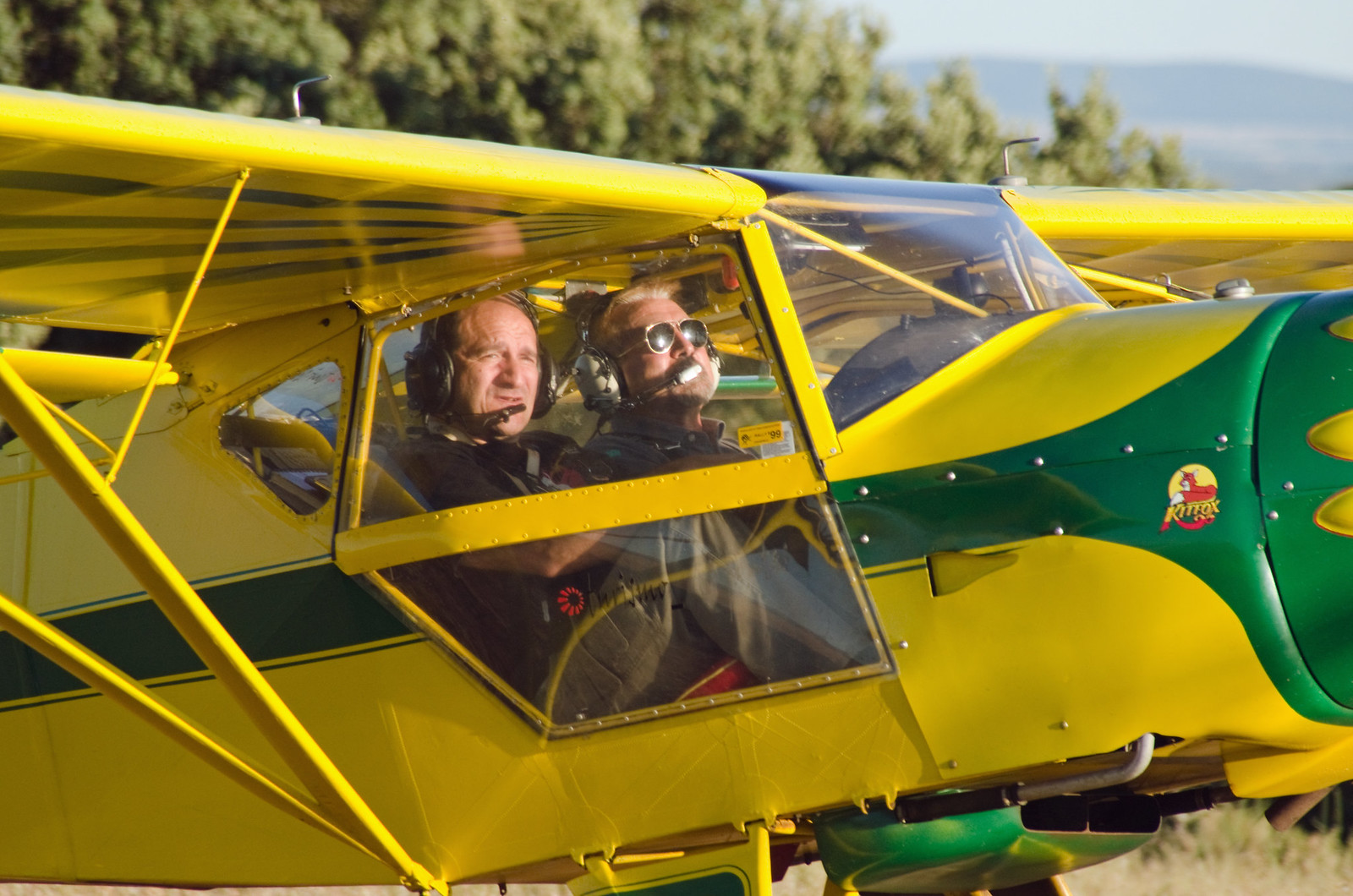 Aerodromo Kitfox  vuelo como premio de sorteo promocional (12)