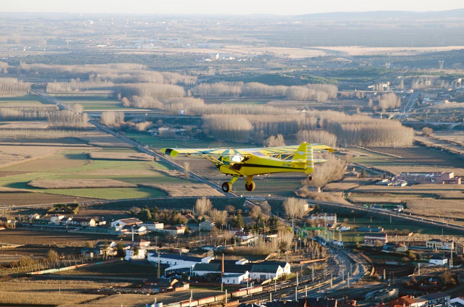 Vuelo Roberto Jabiru UL-450 Aerodromo Kitfox vuelo Astorga (109)