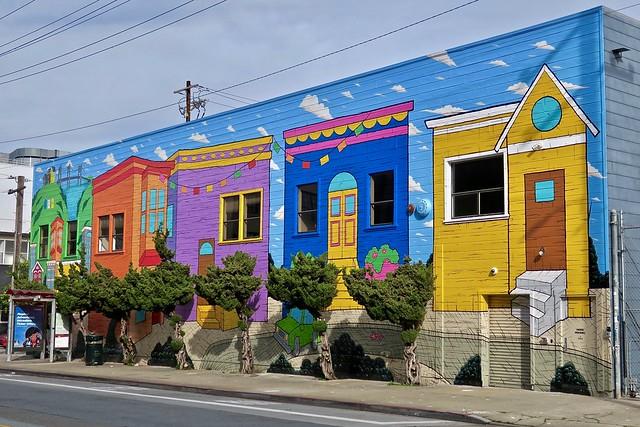 Housing Mural, San Francisco, CA