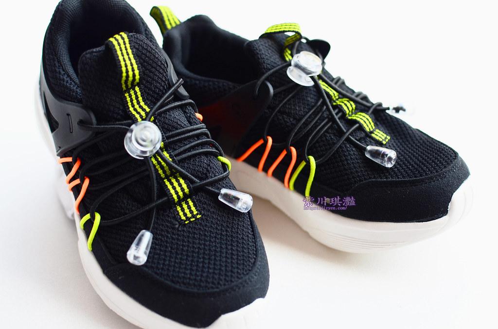 日本黑色運動鞋-0001