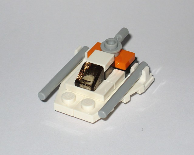 lego 75279 1 day 18 snowspeeder micro build star wars advent christmas calender 2020