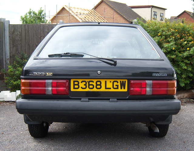 1984 Mazda 323 1.5 GT (2007)