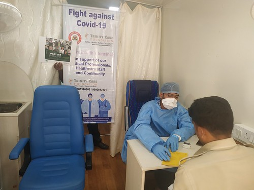 Universal health coverage Day 2020 by Trinity Care Foundation