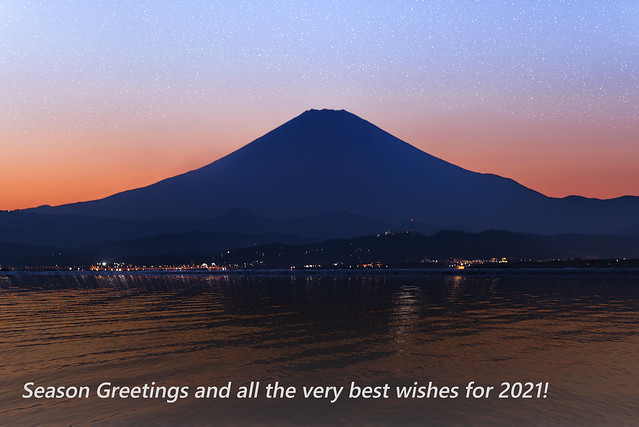 Season Greeting and a Happy New Year 2021