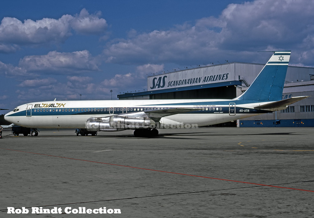 EL AL B707-358B 4X-ATR