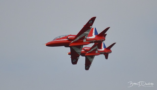 Mini-Red Arrows at Wings & Wheels 2013