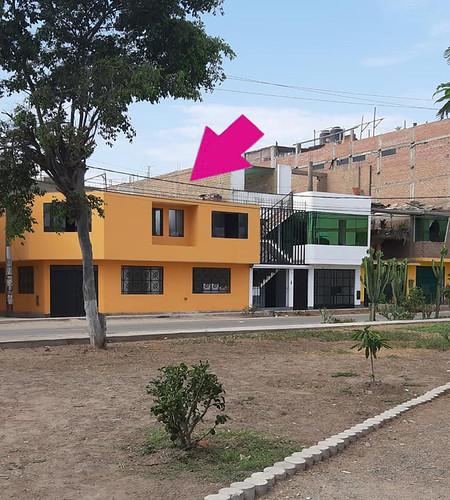 Casa del denunciado