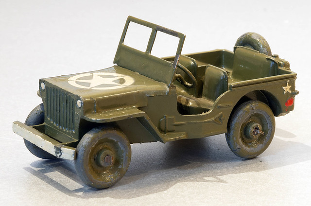 French Dinky No. 24m Military Jeep - Ultra Rare