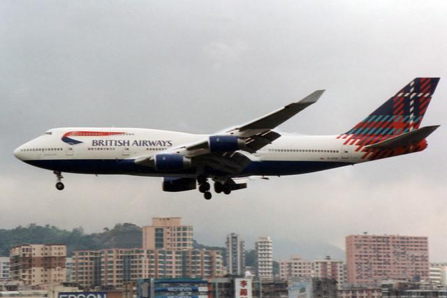 British Airways Boeing 747-436  G-CIVO