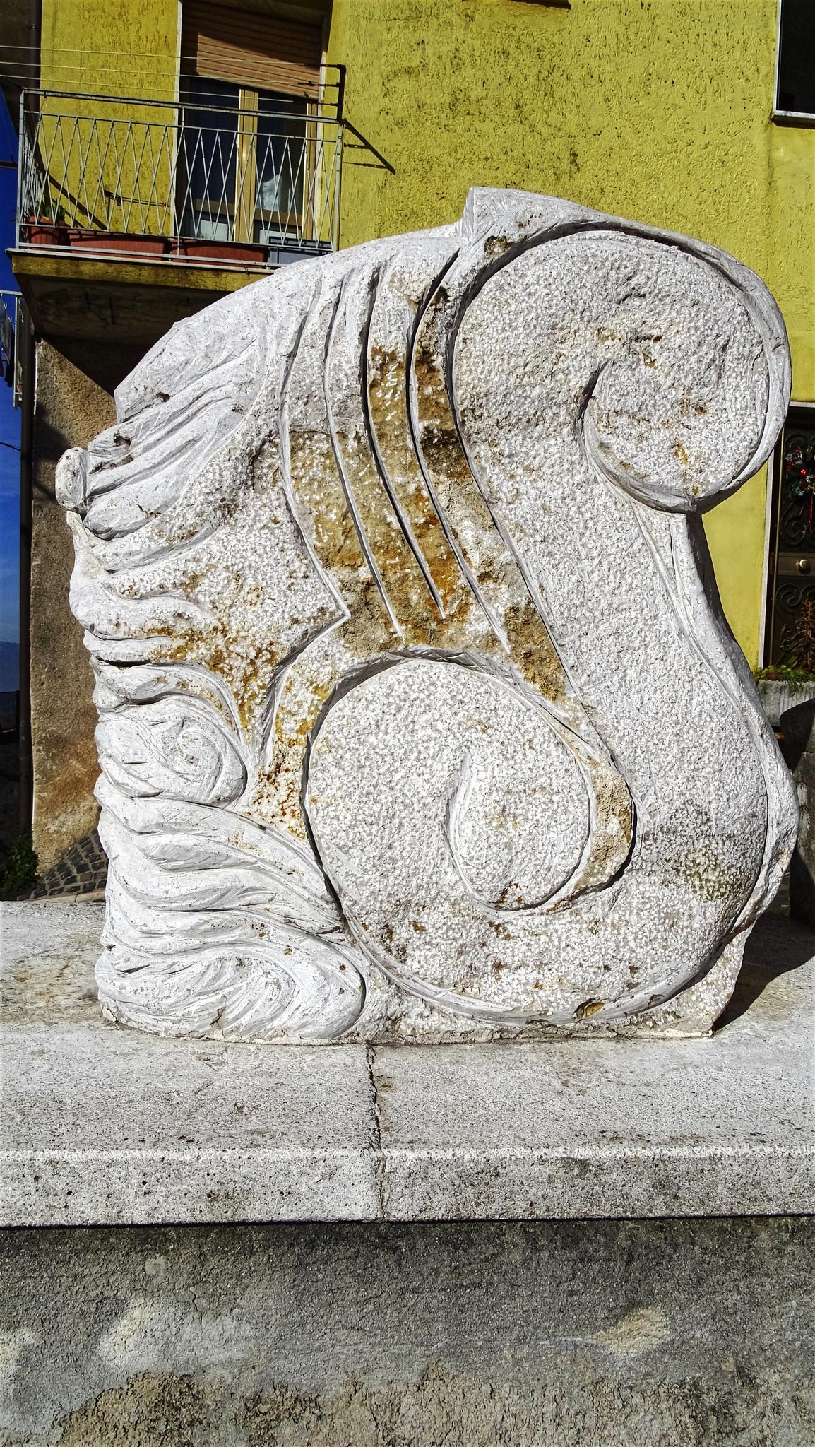 Opera dello scultore  Mario Capo