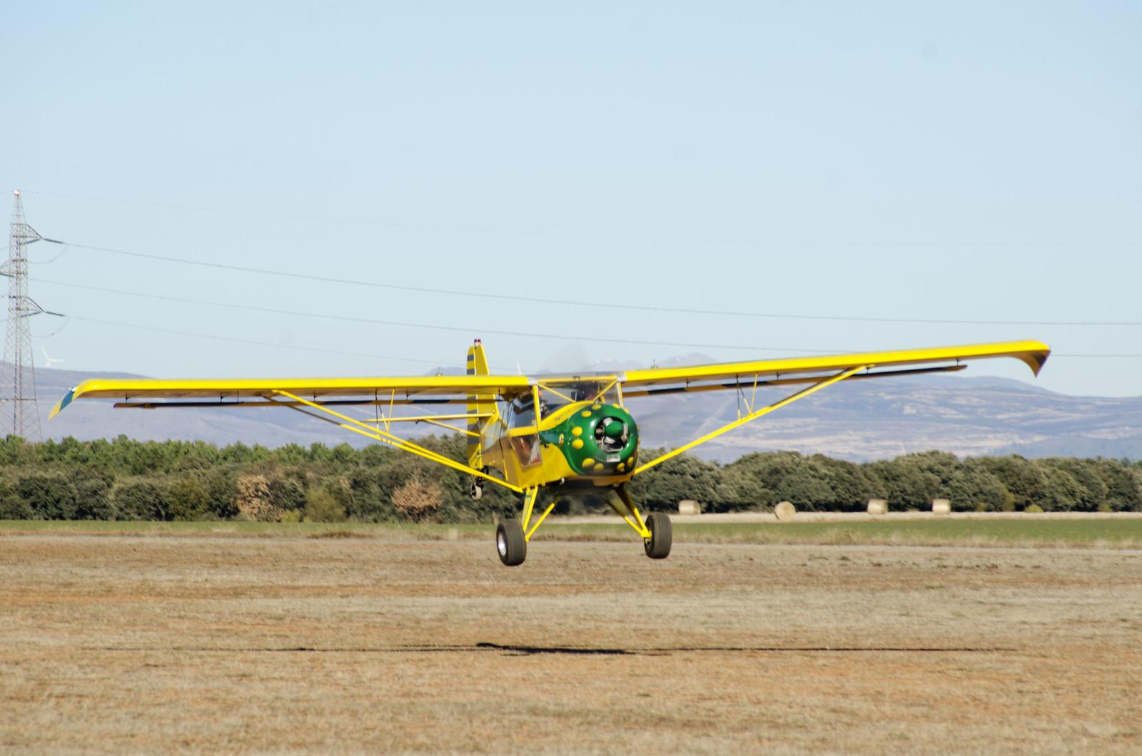 Vuelo Roberto Jabiru UL-450 Aerodromo Kitfox vuelo Astorga (173)