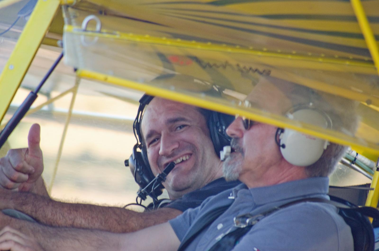Aerodromo Kitfox  vuelo como premio de sorteo promocional (15)