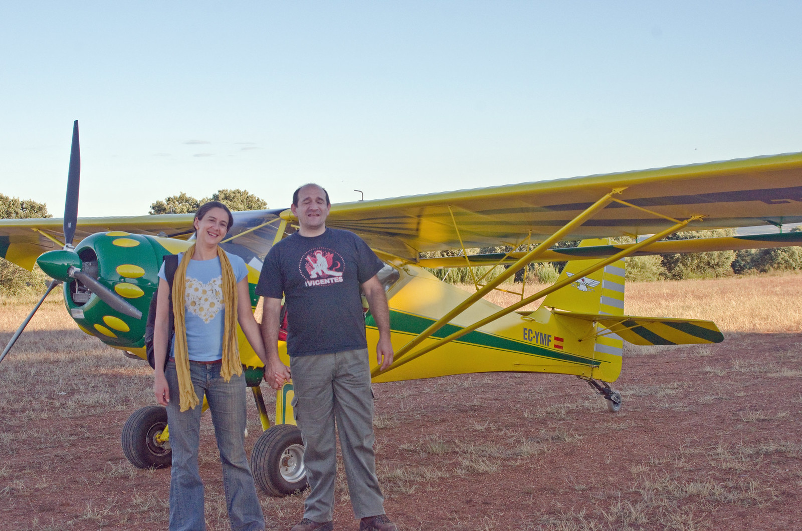 Aerodromo Kitfox  vuelo como premio de sorteo promocional (20)