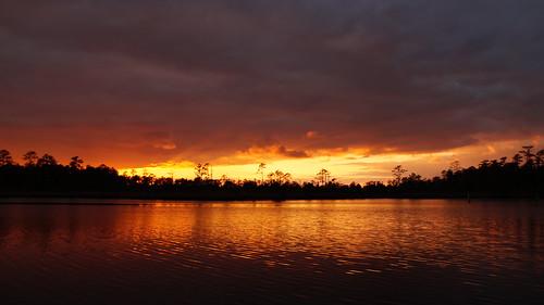 twilight sunsetsandsunrisesgold sunset cloudsstormssunsetssunrises northcarolina northwestcreek fairfieldharbour sony sonyphotographing sonya58 spectacularsunsetsandsunrises sky