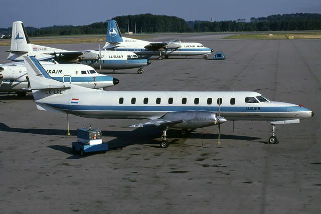 LX-LGL (Luxair Commuter)