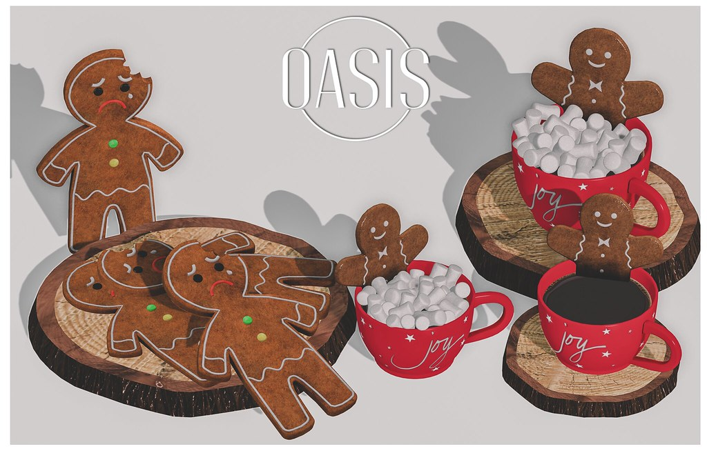 Oasis: Gingerbread Coffee Christmas Set