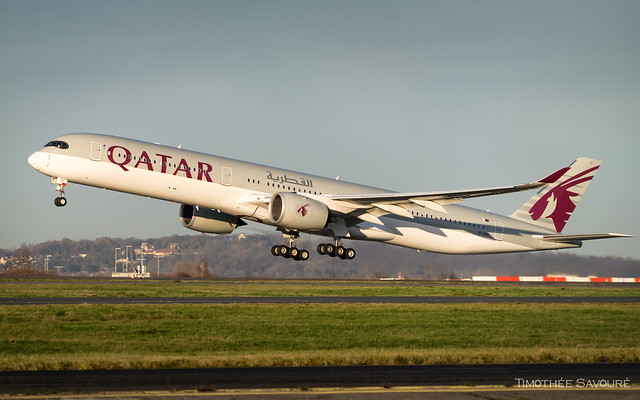 CDG | Qatar Airways A350-1000 | A7-ANH