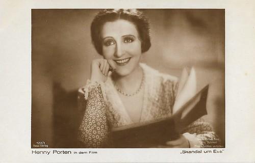 Henny Porten in Skandal um Eva (1930)