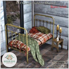DD Vintage Holidays Daybed-Adult Ad