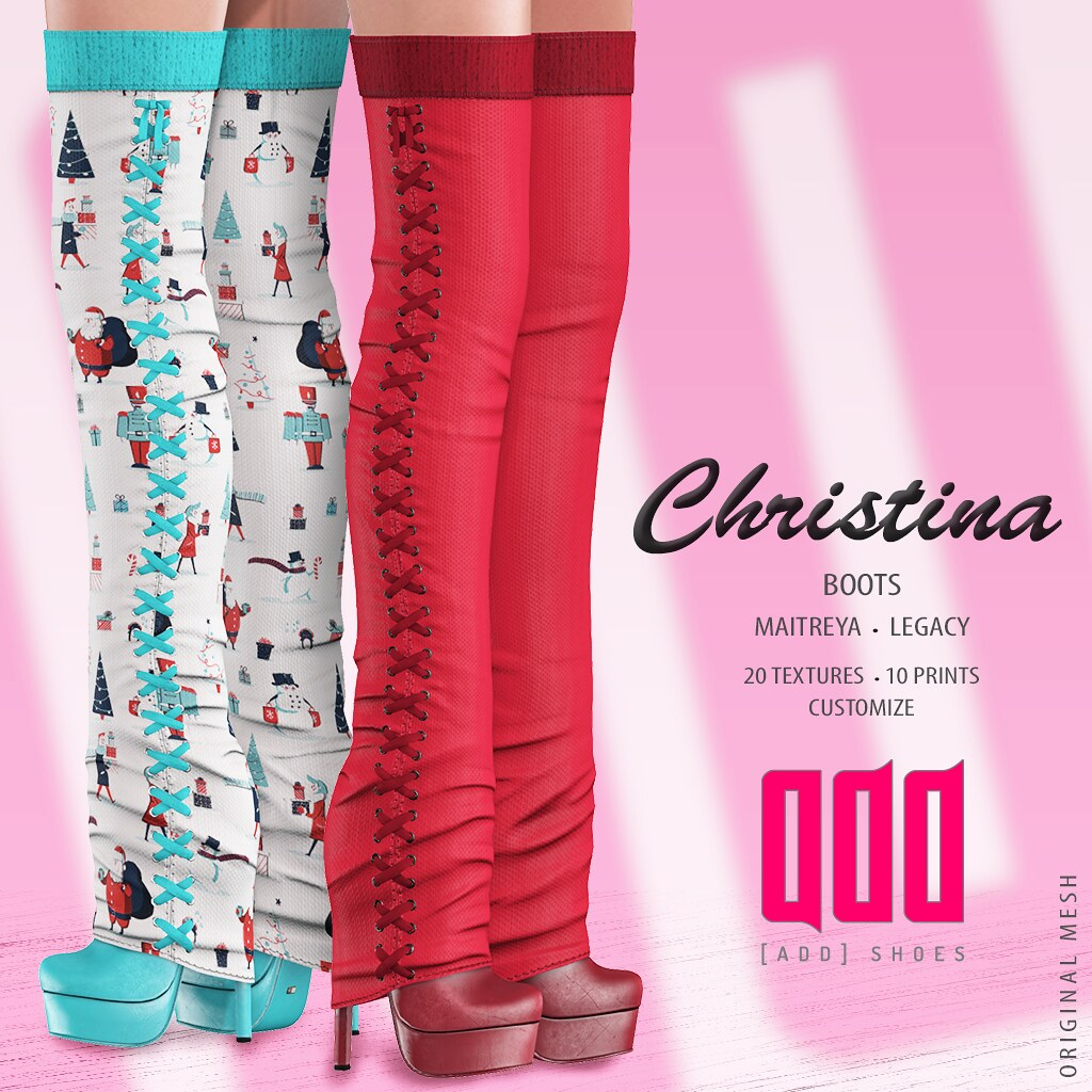 New release – [ADD] Christina Boots