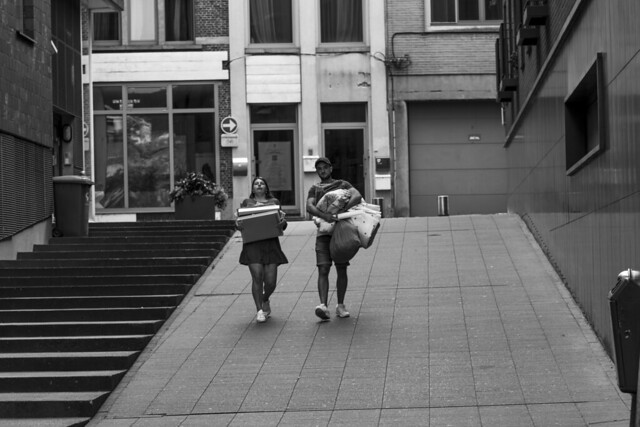 Streetphotography in Mechelen