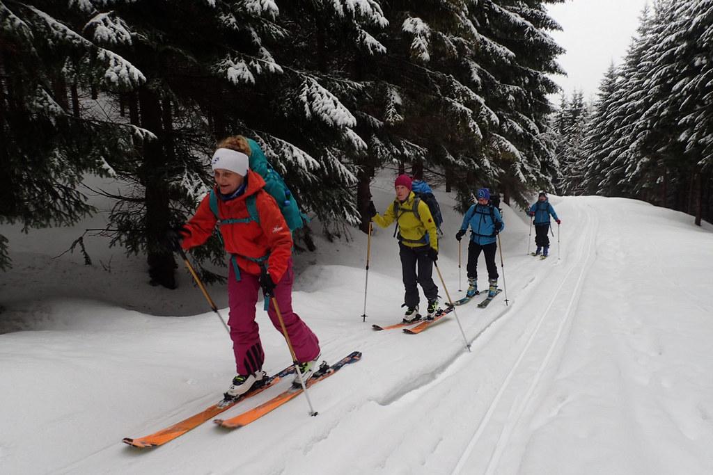 Krkonoše haute route, day 1 Krkonoše Czech photo 19