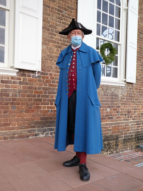 Colonial Williamsburg during the Pandemic