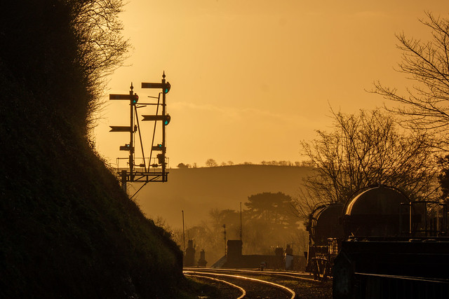 Signals at Bewdley