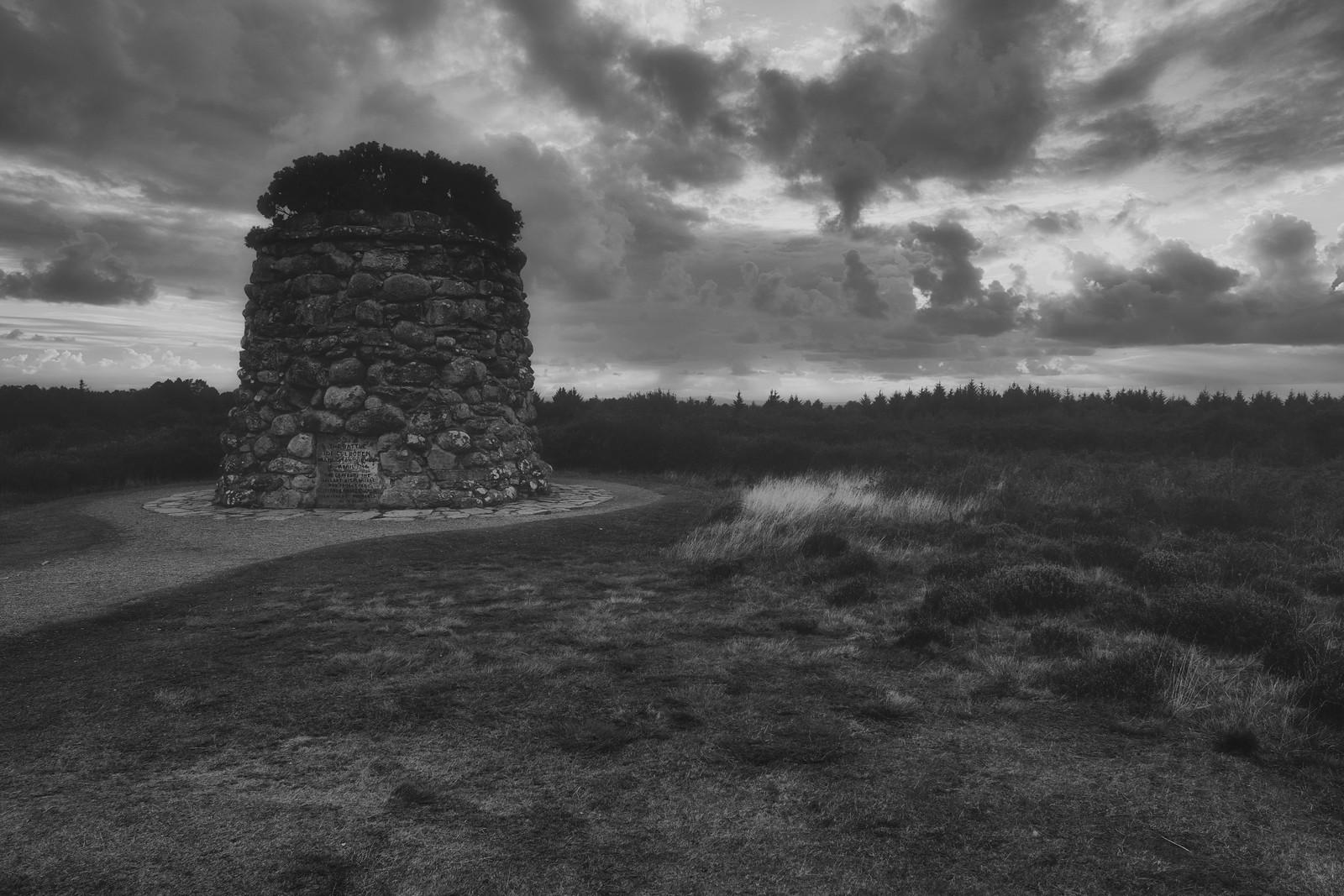 Through the Mist on Culloden Moor