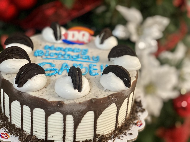 Dairy Queen Oreo Ice Cream Cake