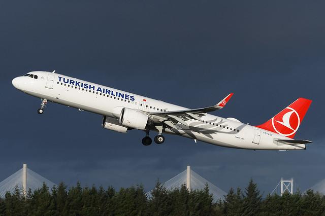 TC-LSV Airbus A321-271NX EGPH 19-12-20