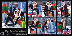 Clix Male Santas Helper