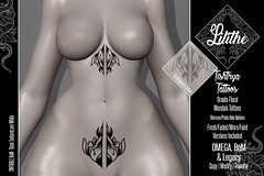 Lilithe'// Tishtrya Tattoos @ Warehouse Sale