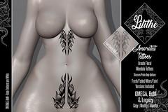 Lilithe'// Ameretat Tattoos @ Warehouse Sale