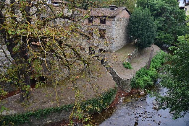 España. Cantabria. La Liébana. Potes. Ribera del rio Quiviesa