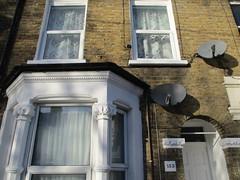 UK - London - Leytonstone - David Beckham's childhood home