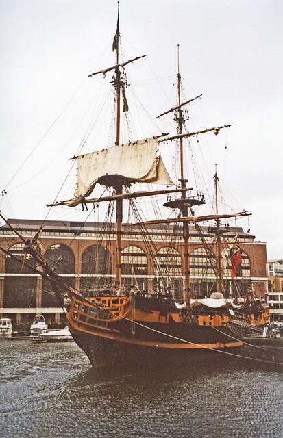 Grand Turk, St. Katherine`s Dock.
