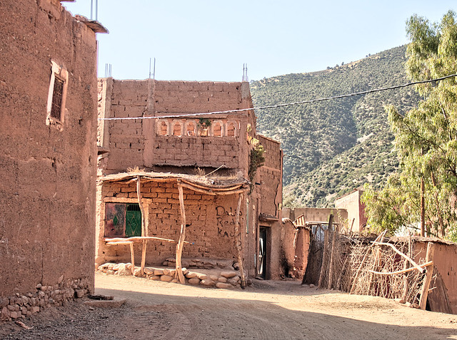 House in a Berber village, Morocco.