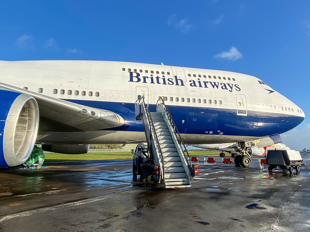British Airways (Negus Retro Livery) Boeing 747-436 G-CIVB