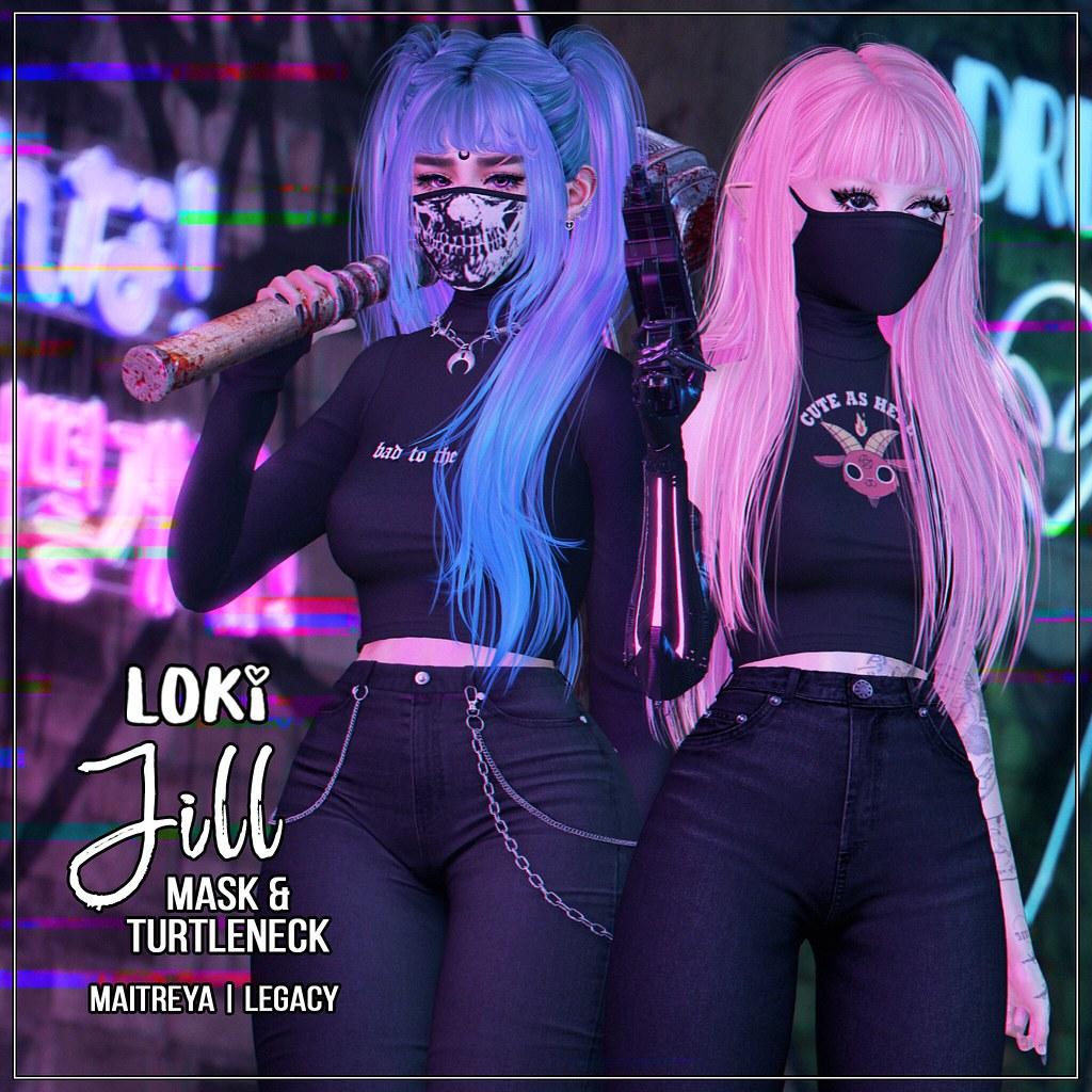 Loki • Jill Mask&Turtleneck • Harajuku | December '20