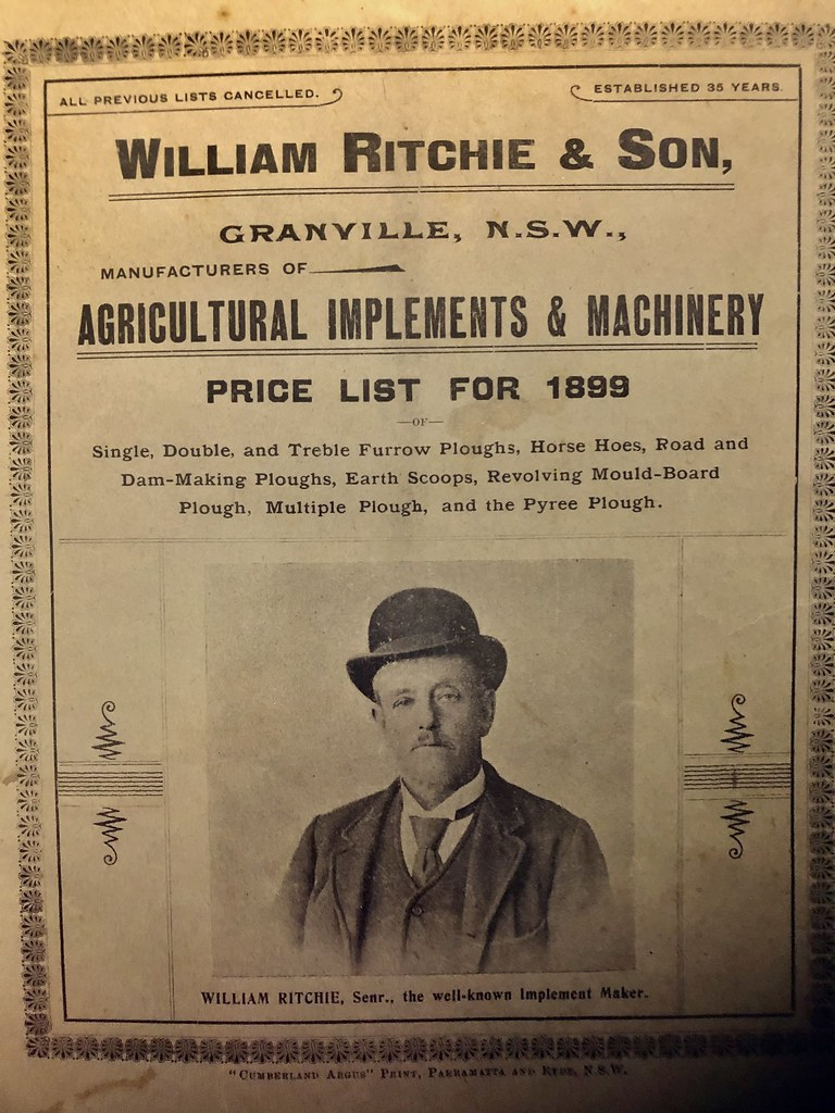 Catalogue for William Richie & Son 1899